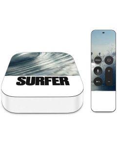 SURFER Magazine Barrel Wave Apple TV Skin