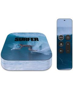 SURFER Magazine Riding A Wave Apple TV Skin