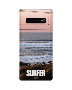 SURFER Magazine Sunset Galaxy S10 Plus Skin