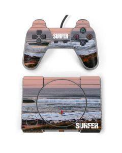 SURFER Magazine Sunset PlayStation Classic Bundle Skin