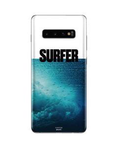 SURFER Magazine Underwater Galaxy S10 Plus Skin