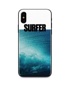 SURFER Magazine Underwater iPhone X Skin
