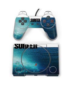 SURFER Magazine Underwater PlayStation Classic Bundle Skin