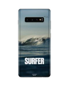 SURFER Waiting On A Wave Galaxy S10 Plus Skin