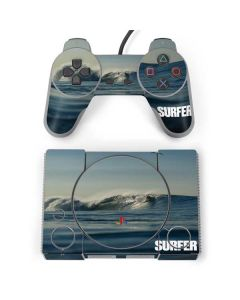 SURFER Waiting On A Wave PlayStation Classic Bundle Skin