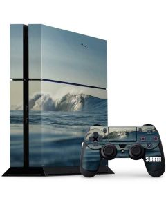 SURFER Waiting On A Wave PS4 Console and Controller Bundle Skin