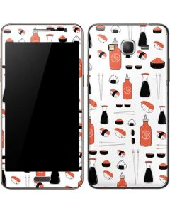 Sushi Galaxy Grand Prime Skin