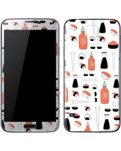 Sushi Galaxy S5 Skin