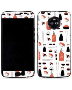Sushi Moto X4 Skin