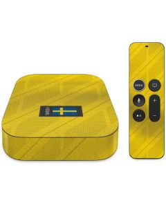 Sweden Soccer Flag Apple TV Skin