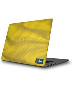 Sweden Soccer Flag Apple MacBook Pro Skin