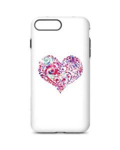 Swirly Heart iPhone 8 Plus Pro Case