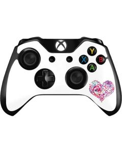 Swirly Heart Xbox One Controller Skin