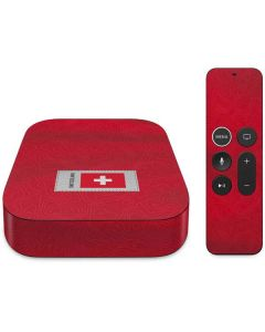 Switzerland Soccer Flag Apple TV Skin