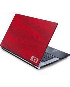 Switzerland Soccer Flag Generic Laptop Skin