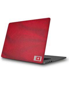 Switzerland Soccer Flag Apple MacBook Pro Skin