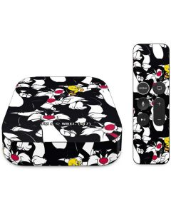 Sylvester and Tweety Super Sized Apple TV Skin