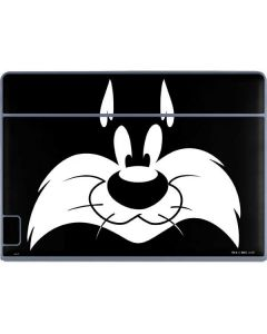 Sylvester the Cat Black and White Galaxy Book Keyboard Folio 12in Skin