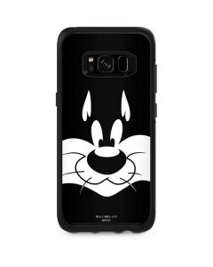 Sylvester the Cat Black and White Otterbox Symmetry Galaxy Skin