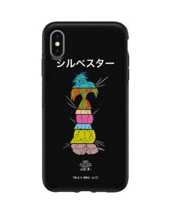 Sylvester the Cat Sliced Juxtapose Otterbox Symmetry iPhone Skin