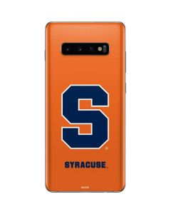 Syracuse Orange Galaxy S10 Plus Skin