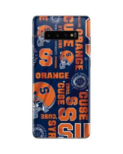 Syracuse Pattern Galaxy S10 Plus Skin