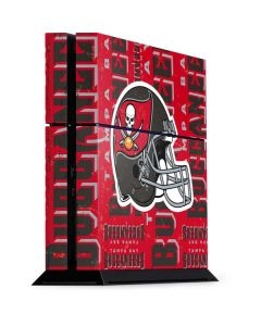 Tampa Bay Buccaneers - Blast PS4 Console Skin