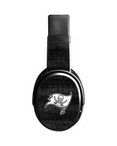 Tampa Bay Buccaneers Black & White Skullcandy Crusher Wireless Skin