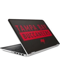 Tampa Bay Buccaneers Brown Performance Series HP Pavilion Skin