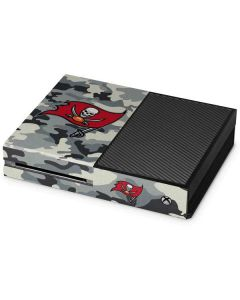 Tampa Bay Buccaneers Camo Xbox One Console Skin