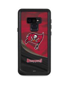 Tampa Bay Buccaneers Galaxy Note 9 Waterproof Case