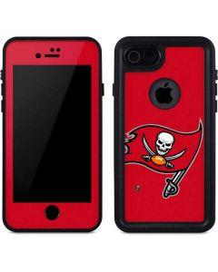 Tampa Bay Buccaneers Large Logo iPhone 8 Waterproof Case