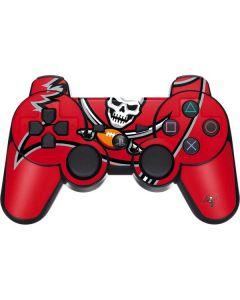 Tampa Bay Buccaneers Large Logo PS3 Dual Shock wireless controller Skin