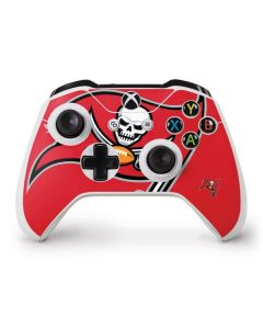 Tampa Bay Buccaneers Large Logo Xbox One S Controller Skin