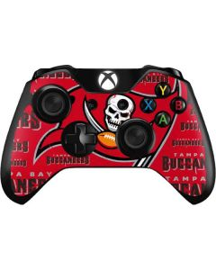 Tampa Bay Buccaneers Red Blast Xbox One Controller Skin