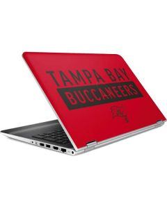 Tampa Bay Buccaneers Red Performance Series HP Pavilion Skin
