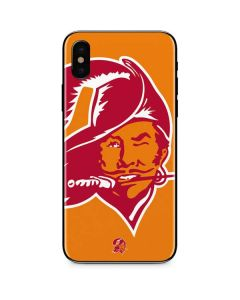 Tampa Bay Buccaneers Retro Logo iPhone XS Max Skin
