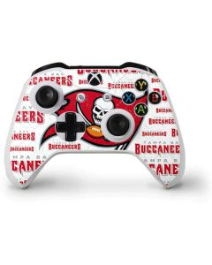 Tampa Bay Buccaneers White Blast Xbox One S Controller Skin