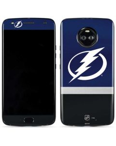 Tampa Bay Lightning Alternate Jersey Moto X4 Skin