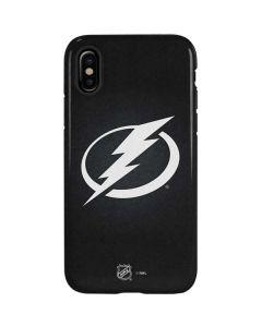Tampa Bay Lightning Black Background iPhone X Pro Case