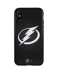 Tampa Bay Lightning Black Background iPhone XS Pro Case