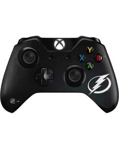 Tampa Bay Lightning Black Background Xbox One Controller Skin