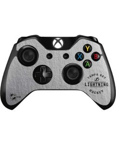 Tampa Bay Lightning Black Text Xbox One Controller Skin