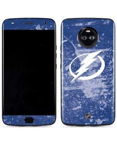 Tampa Bay Lightning Frozen Moto X4 Skin
