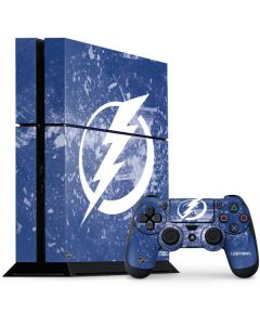 Tampa Bay Lightning Frozen PS4 Console and Controller Bundle Skin