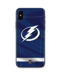 Tampa Bay Lightning Jersey iPhone XS Skin