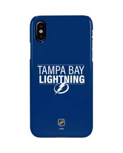 Tampa Bay Lightning Lineup iPhone XS Lite Case
