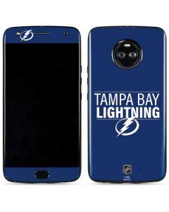 Tampa Bay Lightning Lineup Moto X4 Skin
