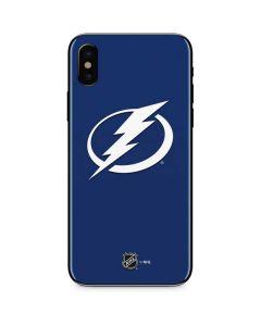 Tampa Bay Lightning Logo iPhone XS Skin
