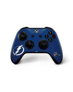 Tampa Bay Lightning Logo Xbox One X Controller Skin